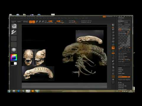 to sculptris to zbrush to maya:, from model to render in 15 minutes!!!
