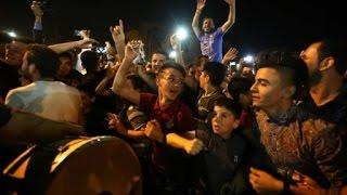 مسيحيو أربيل يحتفلون بتقدم القوات العراقية نحو الموصل بالرقص والأهازيج