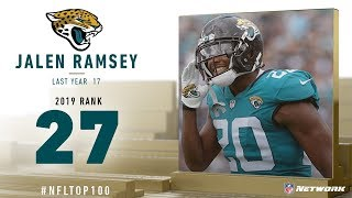 #27: Jalen Ramsey (CB, Jaguars) | Top 100 Players of 2019 | NFL