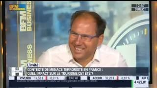 Le tourisme en France face à la menace terroriste