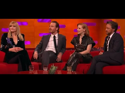 Graham Norton | Sophie Turner, Michael Fassbender, Jessica Chastain, James McAvoy, And Taylor Swift
