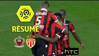 OGC Nice - AS Monaco (4-0)  - Résumé - (OGCN - ASM) / 2016-17