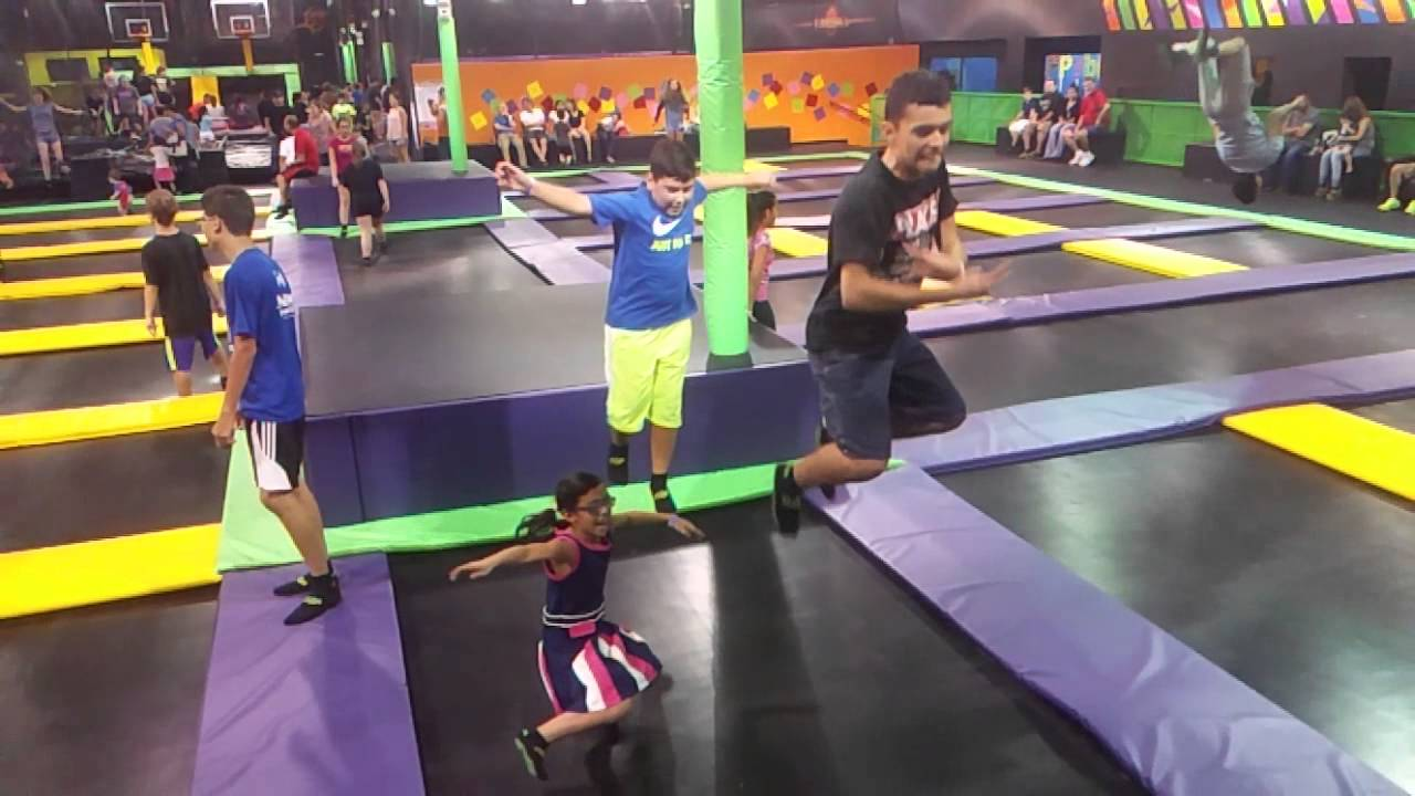 get air trampoline park mcallen tx youtube. Black Bedroom Furniture Sets. Home Design Ideas