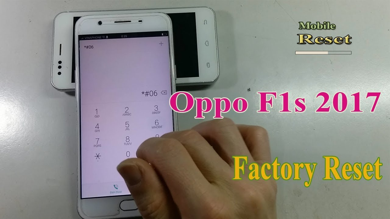 How to Factory Reset Oppo F1s 2017 No Wipe data