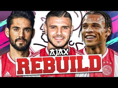 REBUILDING AJAX!!! FIFA 19 Career Mode