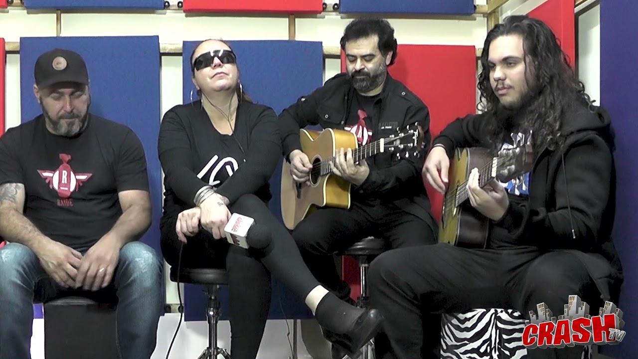 RAIDE em entrevista na TOUR ROCK BRASIL - CrashTV