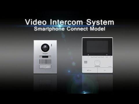Panasonic Video Intercom System Smartphone Connect Model
