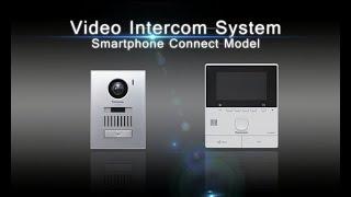 باناسونيك نظام الاتصال الداخلي عبر الفيديو الذكي نموذج الاتصال