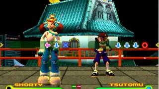 Bust a groove 2 - Shorty vs Tsutomu (con Columbo)