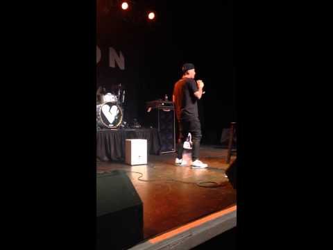 Lewi rapping Fresh Prince of Bel-Air
