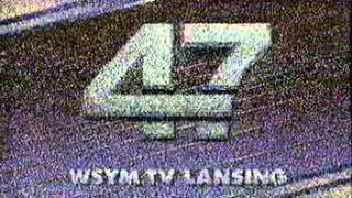 WSYM-TV 47 Sign-Off 1989