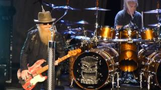 """Got Me Under Pressure"" ZZ Top@Electric Factory Philadelphia 3/14/15"