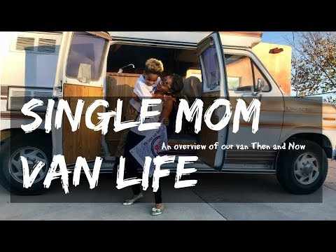 Single Mom Van Life: VAN TOUR