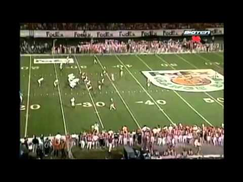 1998 Orange Bowl - #2 Nebraska vs. #3 Tennessee Highlights