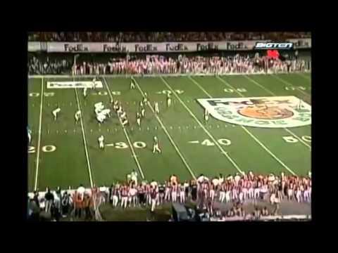 1998 Orange Bowl - #2 Nebraska vs. #3 Tennessee Highlights