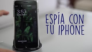 Truco  Espía Con La Camara De Tu IPhone