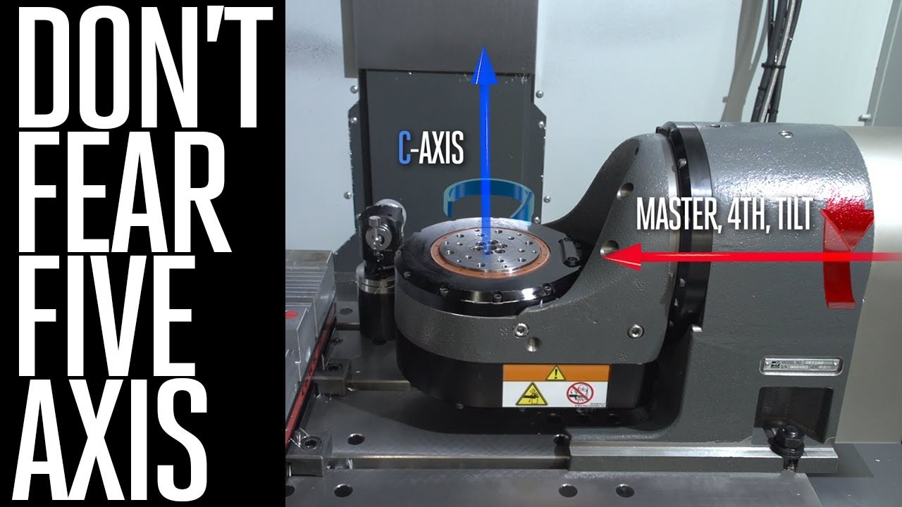 5-Axis Machining Simplified - Haas Automation - Best in CNC