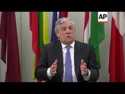 European Parliament's Tajani speech in London