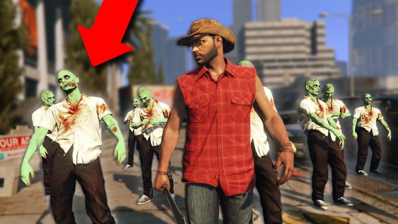 THE WALKING DEAD! | GTA 5 Zombie Apocalypse Roleplay