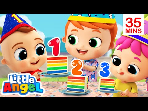 Numbers Song | Counting Is Fun | Little Angel Kids Songs & Nursery Rhymes