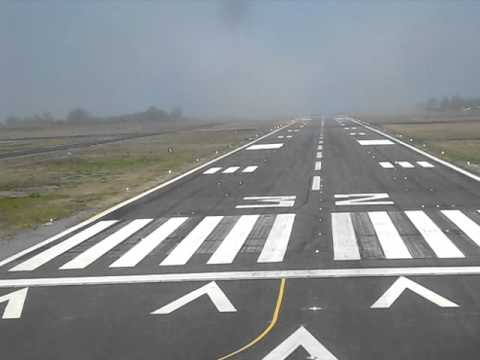 Landing Arcata/Eureka, California,