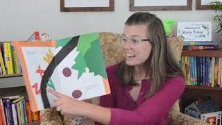 Story Time Online with Hallie Hulse Evans reading Chicka Chicka Boom Boom