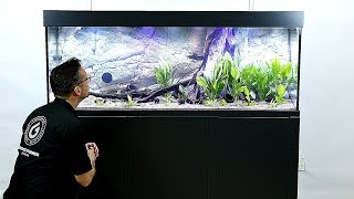 150 gal. Ultro Aquarium with Back to Nature Background thumbnail
