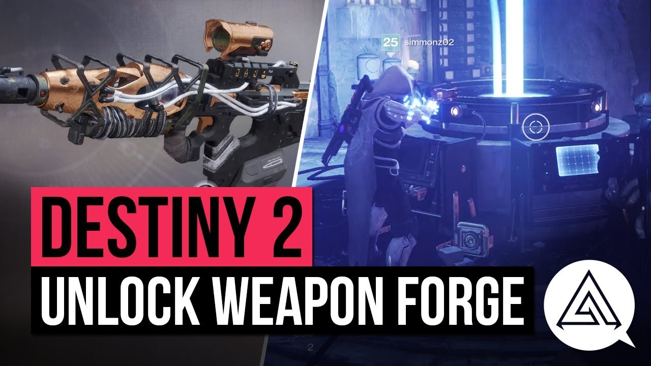 destiny 2 how to use the forge