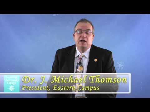Season's Greetings from Dr. J. Michael Thomson