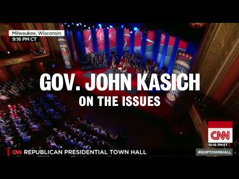 John Kasich Shows Issues Matter
