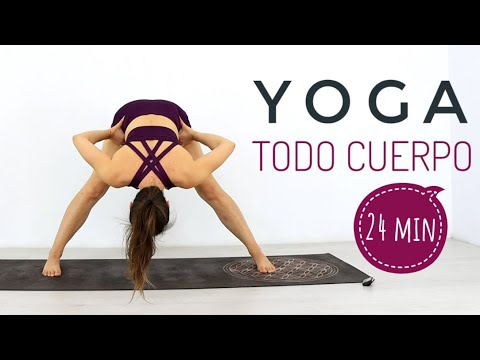 yoga en casa  clase para todo cuerpo  power yoga elena