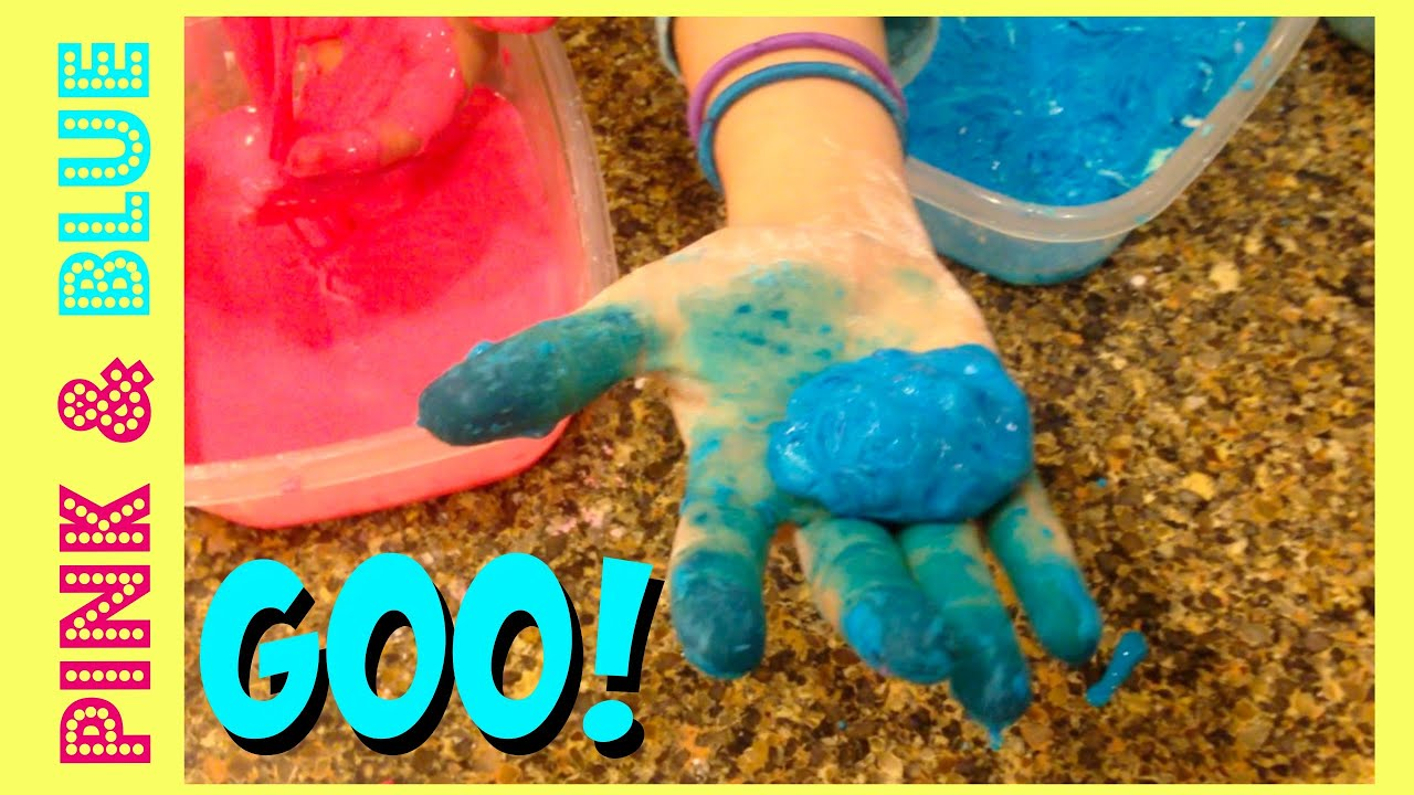 How To Make Oobleck Goo  Two Ingredients Diy Oobleck Goo  Slime Ooze Diy