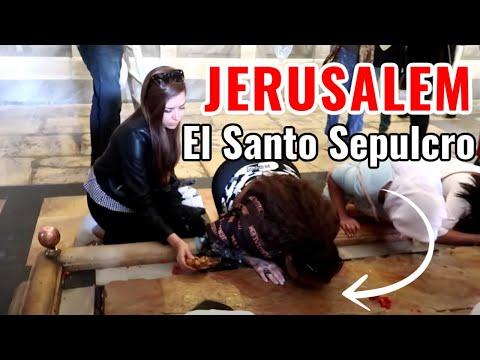 ENTRAMOS A LA TUMBA EN LA QUE ESTUVO JESÚS EN JERUSALEM