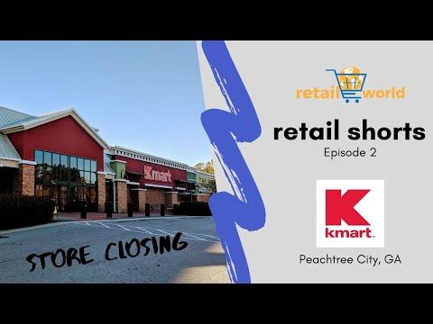 Kmart | Store Closing Tour | Peachtree City, GA | Retail Shorts Ep. 2