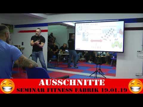 Trailer - Ausschnitte aus dem Seminar Fitness Fabrik - Bodybuilding Lifestyle