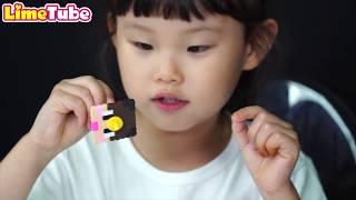 도티 잠뜰 칼라 비즈 팔찌와 팽이 만들기 | 뿅망치 게임 장난감 놀이 minecraft LimeTube & Toy 라임튜브