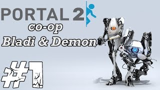 Zagrajmy w Portal 2 Co-op #1 - Atlas, P-body poznajcie się!