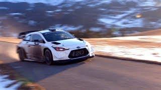 Tests Sebastien Loeb - Rallye Monte Carlo 2019 - i20 WRC [HD]
