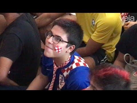 Copa do Mundo: Como foi a torcida da Croácia na final inédita do Mundial