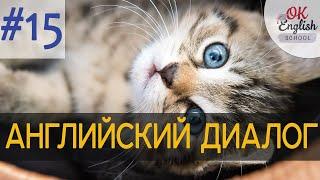 Диалог 15 Look at all these kittens - Посмотри на всех этих котят   Английский для начинающих