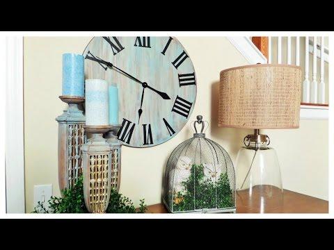 Weekend DIY: Rustic Oversized Wall Clock