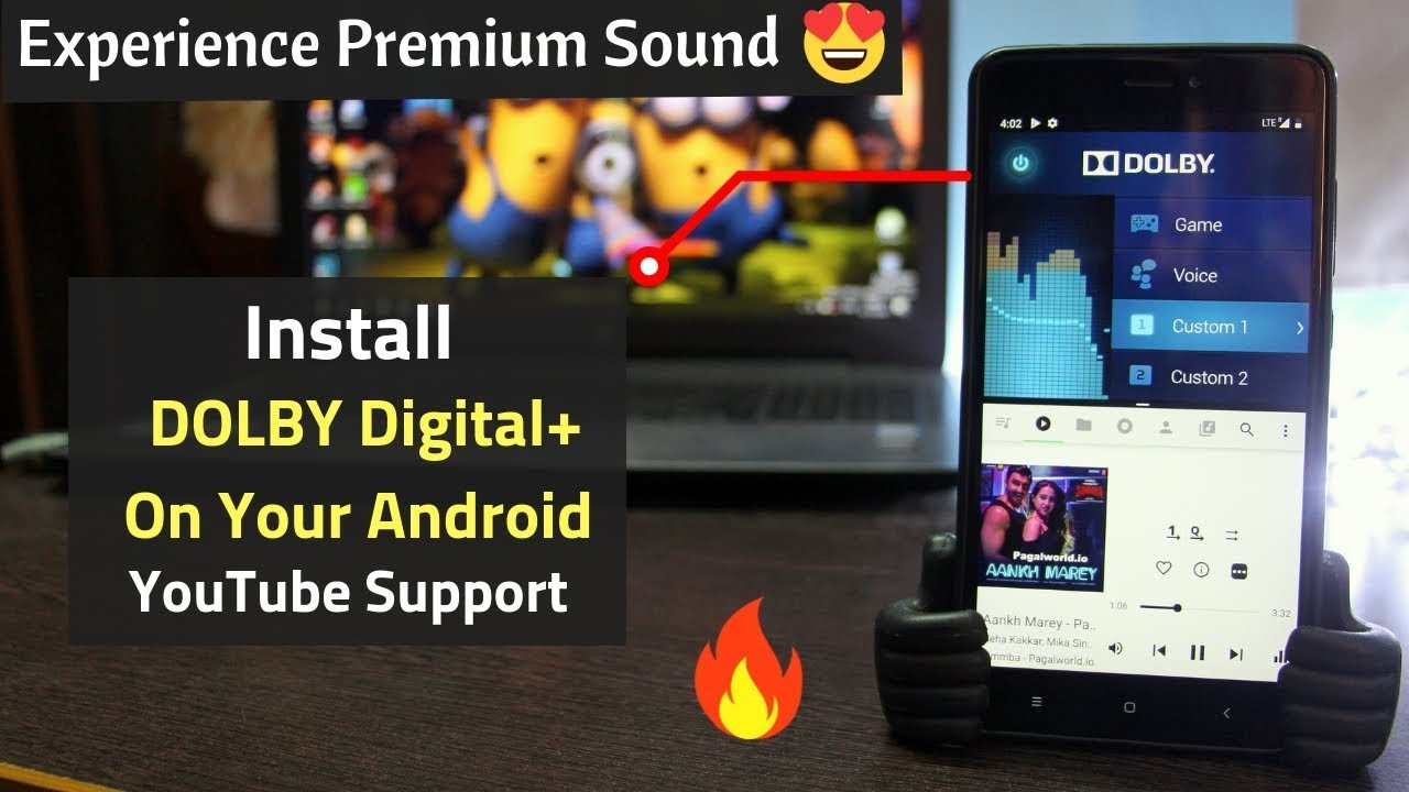 Sound TEST] Install DOLBY Digital+ On Android 9 (Pie) Successfully