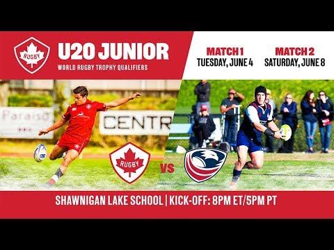Men's Rugby U18: Canada V USA