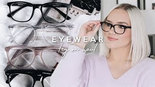 Gambar cover EYEBUYDIRECT EYEWEAR TRY ON HAUL! 2019 GLASSES FOR ROUND/OVAL FACE SHAPE