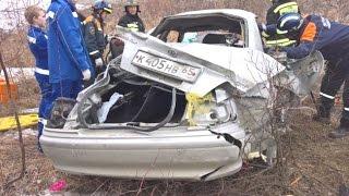 Tragic accident in Russia April 2017 Car crash compilation 1