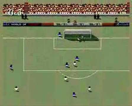 SWOS Sensible World of Soccer Amiga