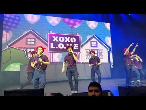 [FANCAM] 160219 EXO XOXO @ EXO'luXion Chicago