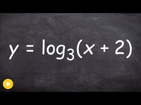 Finding the domain and X-intercepts of a logarithm with horizontal shift