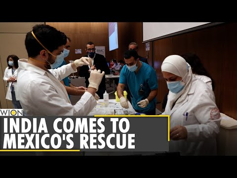Mexico gets over 870,000 AstraZeneca vaccine doses from India | COVID-19 | WION |Latest English News