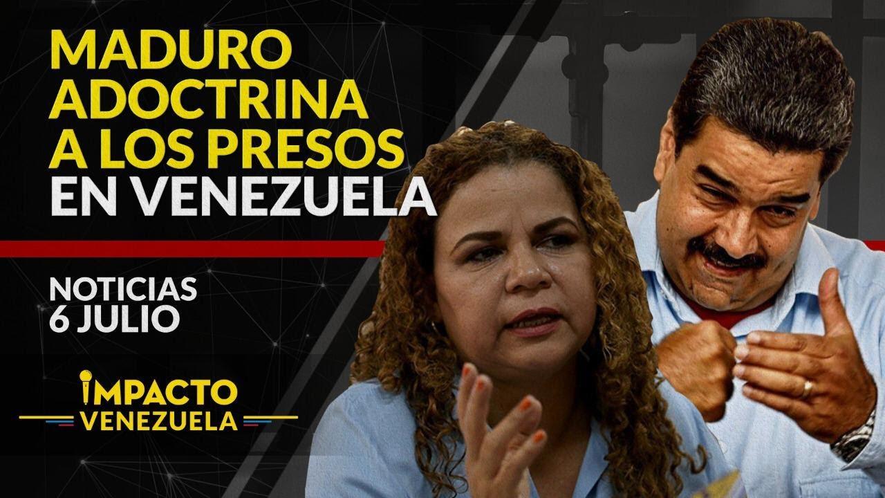 ¡CONFIRMADO! Presos reciben adoctrinamiento en cárceles | 🔴 NOTICIAS VENEZUELA HOY julio 6 2020
